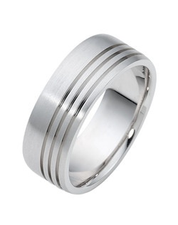 Based on 14K. The fit isFCF, in size10.00, and the width is8 mm. Carved & Engraved. Multi-Color Ring. Available in Silver, 10K, 14K and 18K Gold, Palladium, Platinum, and Titanium. Gold price is based on 1215 gold.