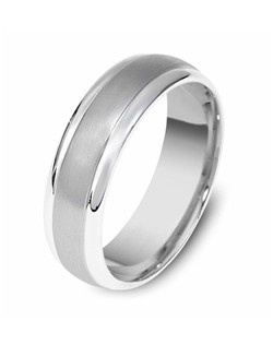 Based on 14K. The fit is CF, in size 10.00, and the width is 7 mm. Multi-Color Ring. Available in Silver, 10K, 14K and 18K Gold, Platinum, Titanium and Palladium. Gold price is based on 1215 gold.