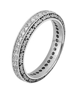 Based on 14K. The fit isCF, in size7.00, and the width is4 mm. Available in 10K, 14K and 18K Gold, Palladium and Platinum. Gold price is based on 1215 gold. Price includes setting.