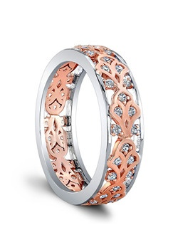 (Available in PLAT,18K,14K)- SIDE DIA 50RBC=0.35ct. Price includes setting.