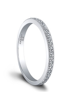 (Available in PLAT,18K,14K)- SIDE DIA 25RBC=0.17ct. Price includes setting.