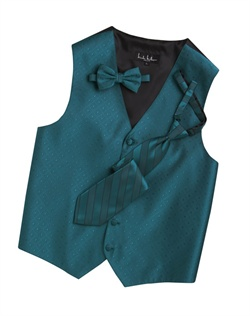 A textured diamond pattern lends modern appeal to this fun teal blue five-button . An adjustable back strap guarantees the perfect fit.