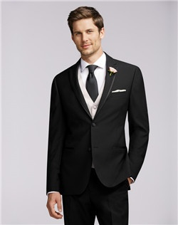 Two-Button Super 100s Framed Notch Lapel