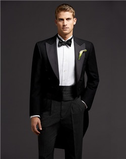Full Dress Tails Peak Lapel