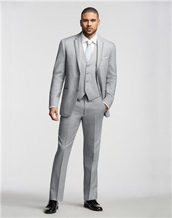 Two-Button Super 120s Satin-Framed Notch Lapel