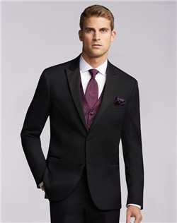 Two-Button Super 130s Peak Lapel