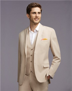 Two-Button Notch Lapel Suit