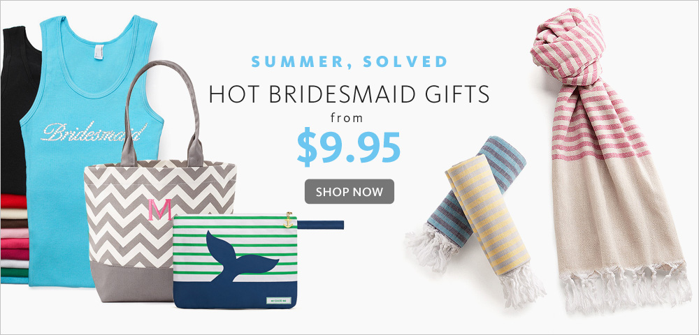 The Knot Wedding Gifts: Summer Bridesmaid Gifts