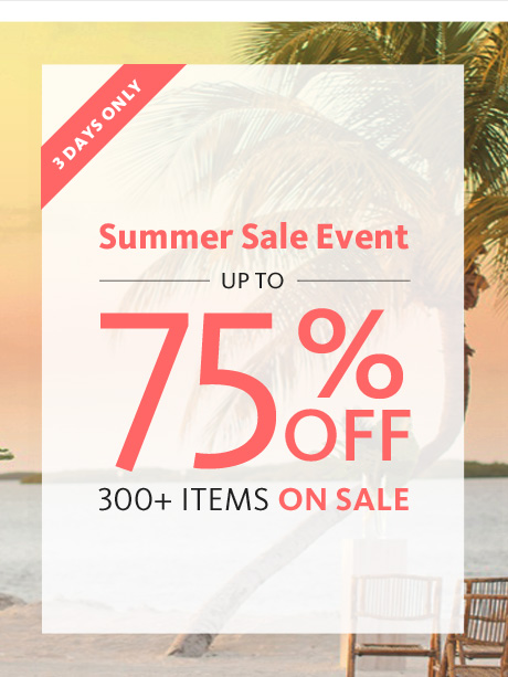 Summer Sale On Now!