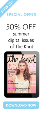Get 50% off The Knot Magazine Digital Issue