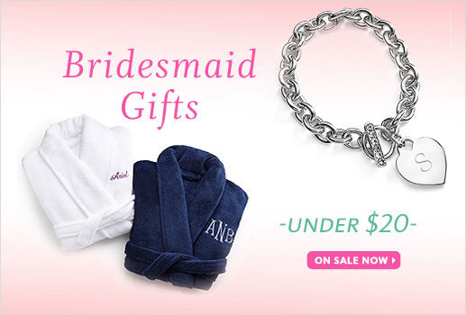 Bridesmaids Gifts Under $20