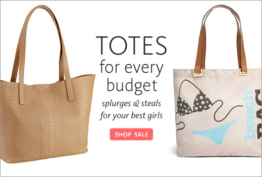 Shop Totes For Every Budget!