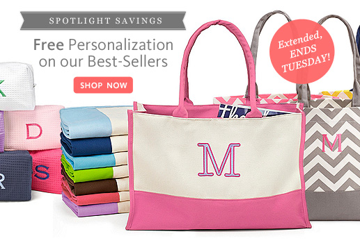 Free Personalization On Our Top Gifts!