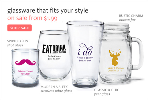 Glassware On Sale from $1.99!