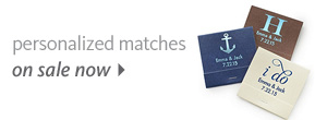 Personalized Matches On Sale Now