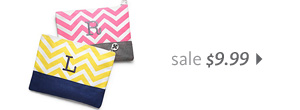 Chevron Cosmetic Case Sale $9.99