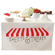 For Your Sweet Treats Bar