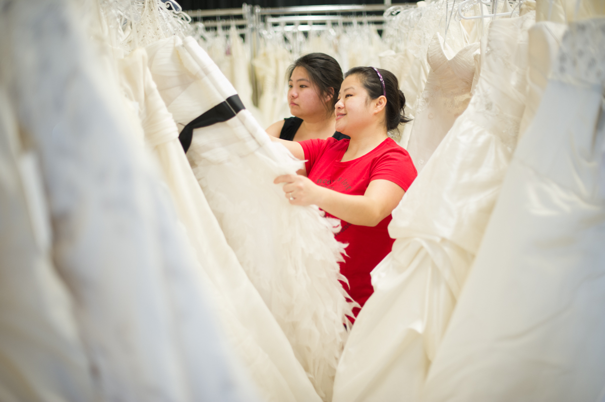 Brides for a Cause Charity Wedding Dress Sale in Seattle