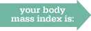 your body mass index is