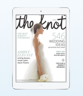 the knot wedding magazine for iPad