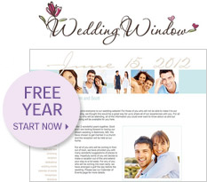 wedding window: Free Trial: StartNow
