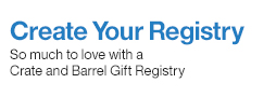 Create a Registry at Crate And Barrel