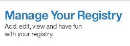Manage Registry Profile at Crate And Barrel