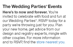 Crate And Barrel Wedding & Gift Registry
