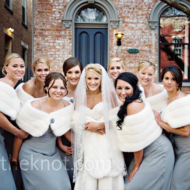 Winter Wedding Bridesmaid Dresses Good