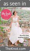 As Seen in The Knot Magazine | Legendary Events