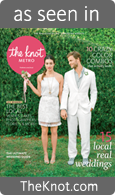 As Seen in The Knot Magazine (link opens new window)