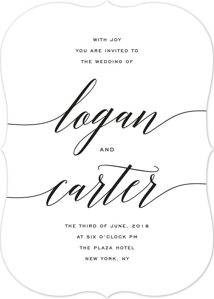 Wedding Invitation Wording Samples – Sample Formal Wedding Invitation Wording