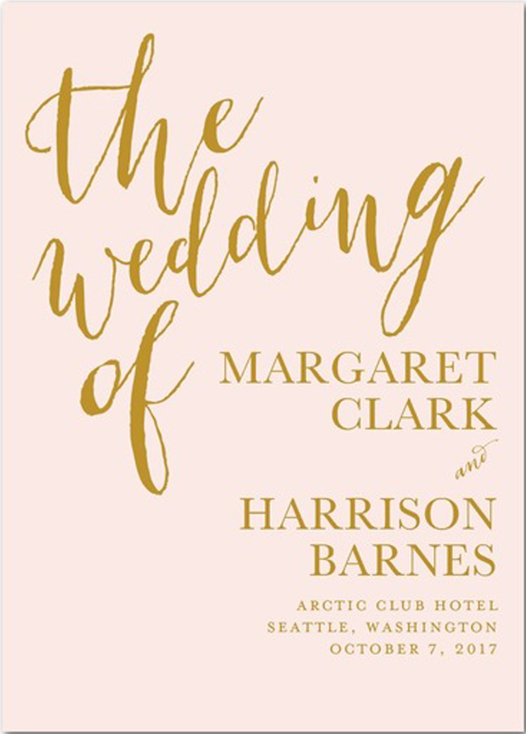 Diy Wedding Programs - The Basics - Wedding Planning - Wedding
